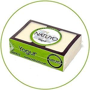 – Mascarilla de jabón NATUYO Hidratante de YOGUR.- Mejora el Aspecto de la piel, aporta Luminosidad, Anti-Envejecimiento, previene y reduce el Acné. Sin sulfatos SLS.