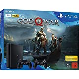 Sony PlayStation 4 (PS4) Slim 1TB Konsole Schwarz Bundle - God of War - 2 x DUALSHOCK�4 Wireless-Controller Bild