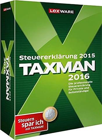 TAXMAN 2016 (für Steuerjahr 2015)