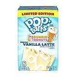 Vanilla Latte Flavoured Pop Tarts, 400g
