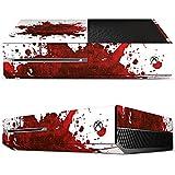Microsoft Xbox One Case Skin Sticker aus Vinyl-Folie Aufkleber Blut Spritzer Grunge