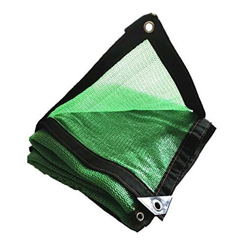 Filet d'ombrage, auvents, Filet Solaire, écran de Protection Solaire, voiles de bâche de Tente de Tente pour auvent, appropriées à la Protection Anti-UV, grandeurs Multiples, Vert (Taille : 9 * 12M)