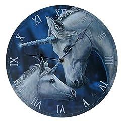 Idea Regalo - Orologio da Muro Amore di Unicorno - Lisa Parker