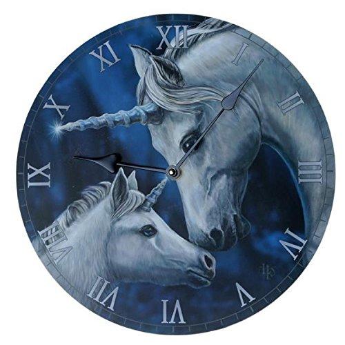 Wanduhr Einhörner Lisa Parker Wanduhren Uhren Uhr Bilderuhren Bilduhr Einhorn