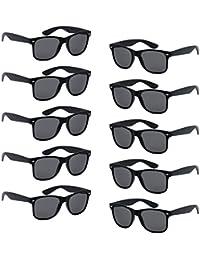 FSMILING Großhandel Nerd Sonnenbrille Bunt Set UV400 Retro Design Stil Unisex Brille - 10