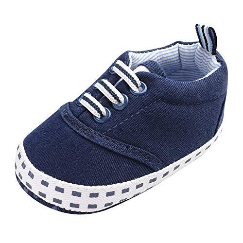 SOMESUN Baby Süße Wärme Krippe Schuhe Jungen Mädchen Neugeborenes Niedlicher Baumwolle Segeltuchschuhe Weich Sohle rutschfest Freizeit Sneaker Wanderschuhe (Mädchen Neugeborenen Schwarz Die Schuhe)