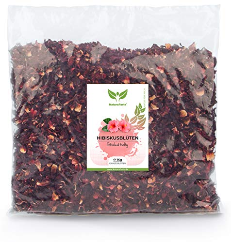 NaturaForte Premiumqualität Hibiskus-Blüten