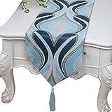 ZL-Tischläufer Tischläufer Tischdecke Tischdecke Matte Arbeitsplatte Dekoration Abdeckung Tuch (Farbe : B, größe : 33 * 300cm)