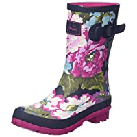 Joules Women's Mollywelly Rain Boot, Black