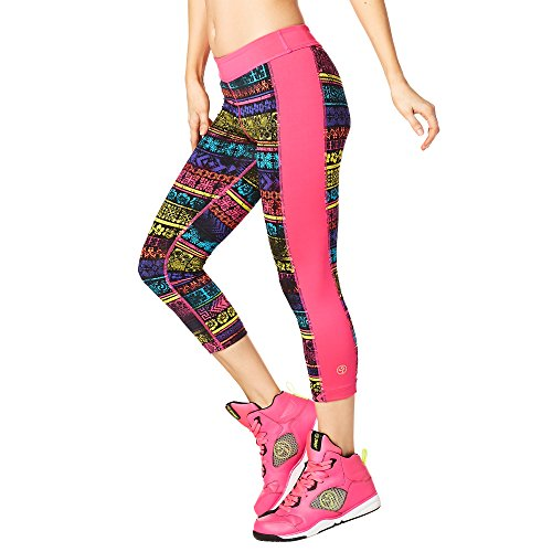 Zumba Fitness® Let 's Escape Capri Panel Leggings