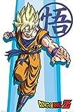 GB eye Ltd Dragon Ball Z, Goku, maxi poster 61x 91.5cm, legno, diversi, 65x 3.5x 3.5cm