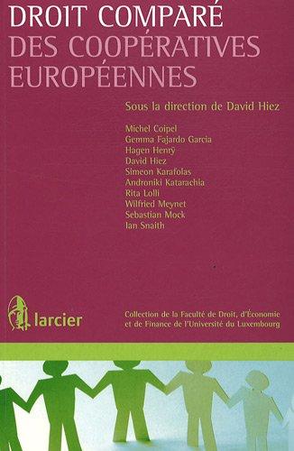 Droit comparé des coopératives européennes