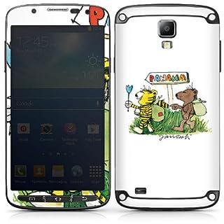 DeinDesign Samsung Galaxy S4 Active Folie Skin Sticker aus Vinyl-Folie Aufkleber Janosch Merchandising Pour Supporters Fan Article Merchandise