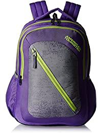 American Tourister 24 Ltrs Purple Casual Backpack (Casper Bacpack 08)