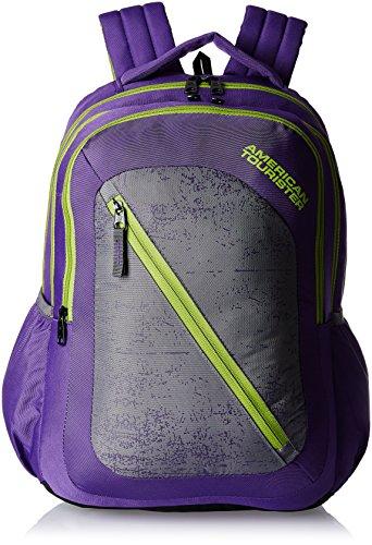 American Tourister 24 Ltrs Purple Casual Backpack (Casper Bacpack 08)