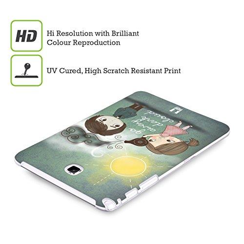 Head Case Designs Sich Wohlfühlen Piper Der Mops Soft Gel Hülle für Apple iPhone 6 / 6s Dunkle Wolke