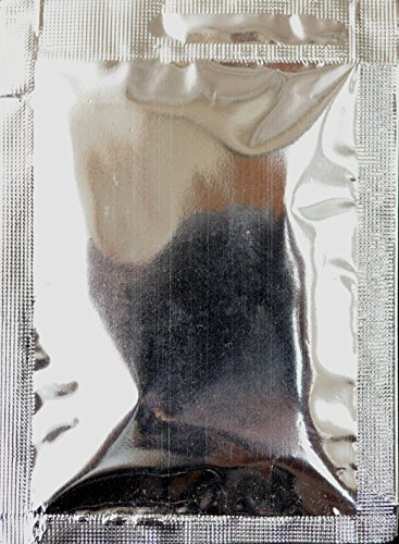 10 pezzi bustine di allume in talco finissimo alta qualità peso netto 25g per bustina, totale netto 250g offerta convenienza