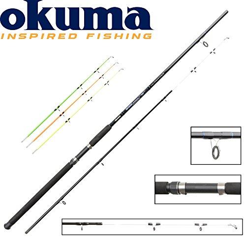 Okuma G-Force Sea Quiver Bootsrute 270cm 40g, 80g, 120g, 200g - Pilkrute zum Meeresangeln, Bootsrute mit Wechselspitze für Norwegen