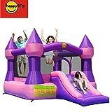Happy Hop Castle Bouncer with Slide 9017P