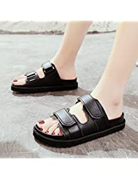 GAOLIM Plage Avec Velcro Épais Une Base Plate Et Polyvalent Sandales Femme Télévision Quelques Frais En Été Et