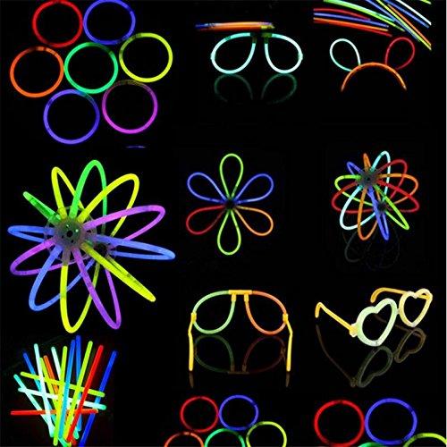 LaDicha 100Pcs Großhandel Led Flashing Light Novelty Toys Glow Stick Für Die Festlichkeiten Dekoration