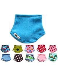 Anna York Design - Baby Kinder Mitwachs-Halstuch oder Loop Schal, Bio-Baumwolle, Mädchen Jungen, Hergestellt in Deutschland