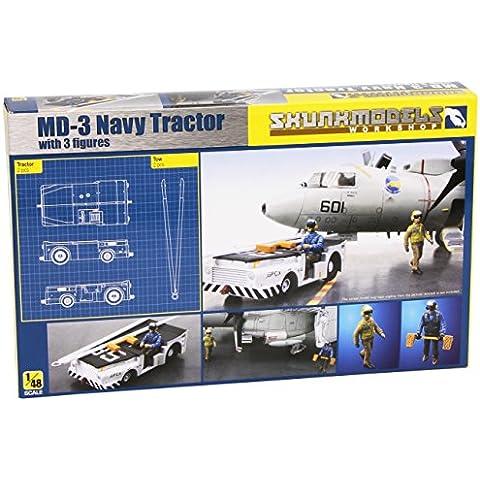 Skunk Modello Laboratorio SW-48003 - Kit Modello MD-3 Navy Trattore corto Tipo