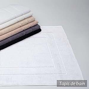 Tapis de bain 70x140 cm FLAIR Blanc 1500 g/m2