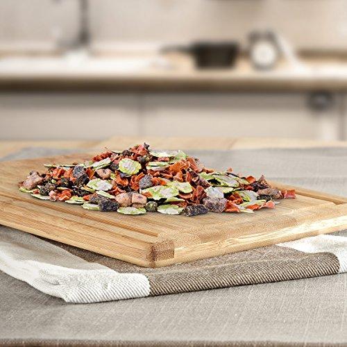 AniForte B.A.R.F. Line No2 Früchte und Gemüse- in verschiedenen Größen- mit Kräutern 1kg glutenfreie Gemüseflocken Hundefutter- Naturprodukt für Hunde - 2