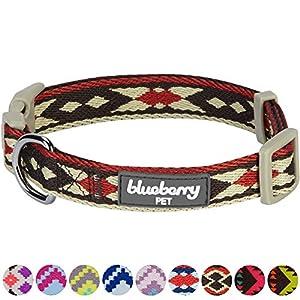 Dieses Designer-Hundehalsband ist dank seines insgesamt neutralen Looks, hochqualitativen Gewebes und schicken Ethnomusters für den ganzjährigen Gebrauch geeignet. Ähnlich den anderen Ethno-gemusterten Halsbändern, die schon bei unseren Kunden Belieb...