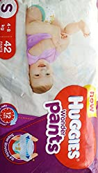 HUGGIES WONDER PANTS ( NEW ) SMALL - 42