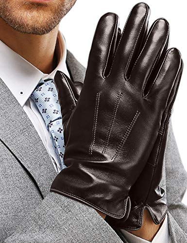 guanti pelle vintage Guanti Pelle Uomo inverno