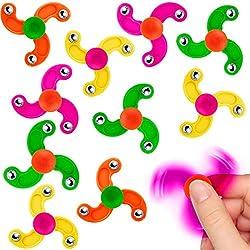 German Trendseller®x Party Enfant - Mini Twister Mix ┃Gyro - Compétences - Toupie ┃Petit Cadeau ┃Anniversaire Enfant ┃Choix de Couleurs┃3 Pièces