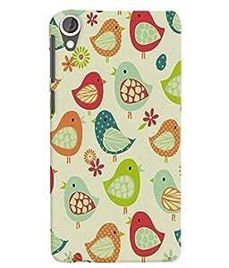 Citydreamz Birds/Jungle/Nature Hard Polycarbonate Designer Back Case Cover For HTC Desire 828