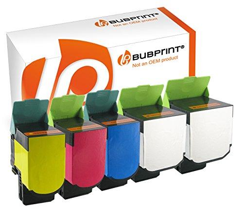 Bubprint 5 Toner kompatibel zu Lexmark CS410 für CS310N CS310DN CS410N CS410DN CS410DTN CS510DE CS510DTE