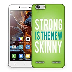 Snoogg Strong is the New Skinny Designer Protective Back Case Cover For Lenovo K5 Vibe