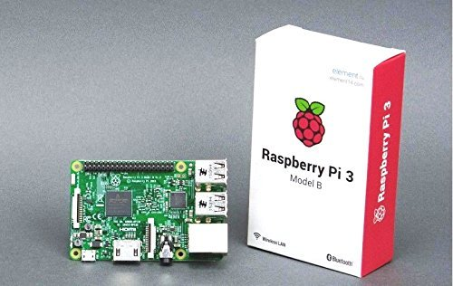 RASPBERRY PI 3 MODEL B INBULT BLUETOOTH AND Wifi