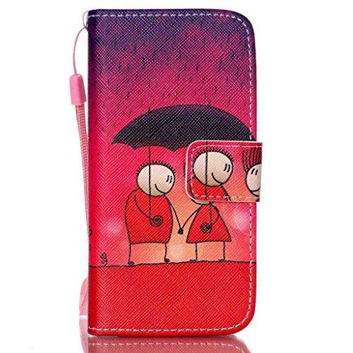 Funda para Samsung Galaxy S6 edge plus G9280,Yihya Luxury PU Cuero Caso Folding Stand Wallet Flip Case Cover Carcasa con Card Slots/Cierre Magnético/Wrist Strap + 1 x Stylus Pen--Estilo 12