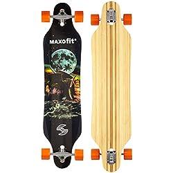 "MAXOfit® XXL Deluxe Longboard ""Mammut N°15"",103 cm, ABEC 11 (or-19015)"