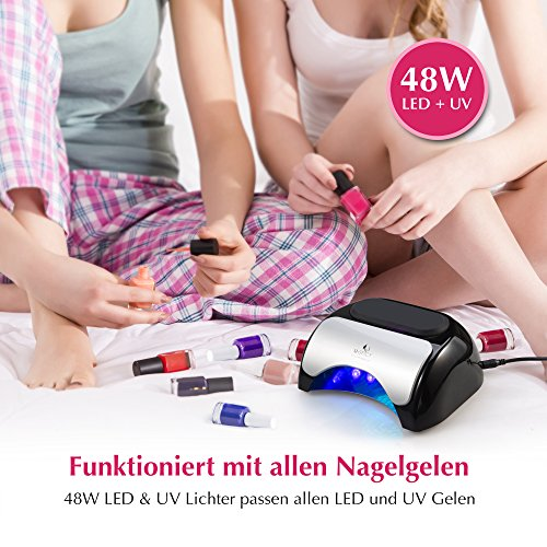 LED Gel Lampe mit Sensor - 2