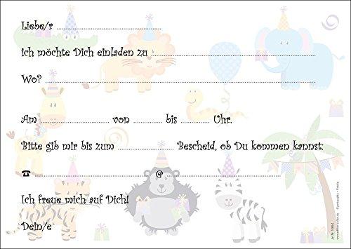 Edition Colibri (10654)   6 biglietti di invito per feste di