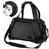 Lifeasy Sporttasche Reisetasche mit Schuhfach 40 Liters Wasserdicht Tasche 3 in 1 Sportrucksack Wochenende Reise Rucksack Canvas Handgepäck Weekender für Männer und Frauen