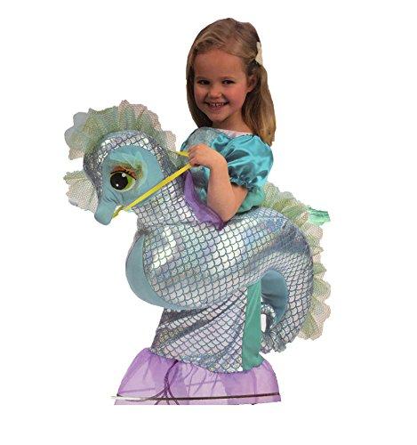 Kinder Mädchen Seepferdchen Mermaid Fancy Dress Up Kostüm Outfit Größe 3-7 ()