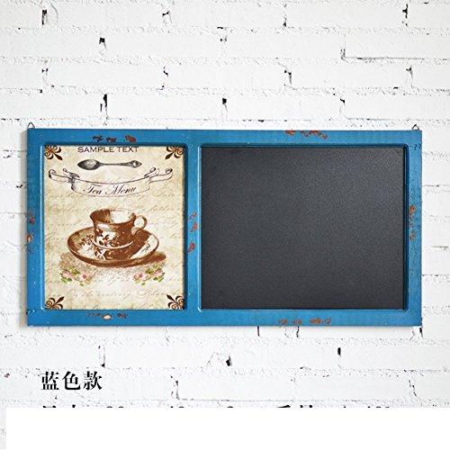 LIUYU Ly Land Holz Wand Dekoration Board / Tee-Shop in Cyber ??Caf \U0026 Uml, \U0026 Brvbar; Wandverzierung Message Board-D,EIN
