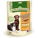 James Wellbeloved Crackerjacks Dog Treats Turkey 225 g
