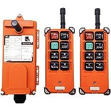 f21-e1b doble Emisores de elevación grúa mando a distancia inalámbrico