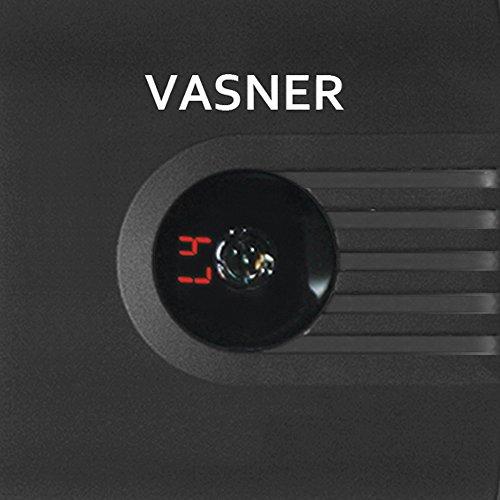 VASNER Teras 25 Infrarotstrahler Heizstrahler Terrassenstrahler – schwarz – 2500 Watt - 2
