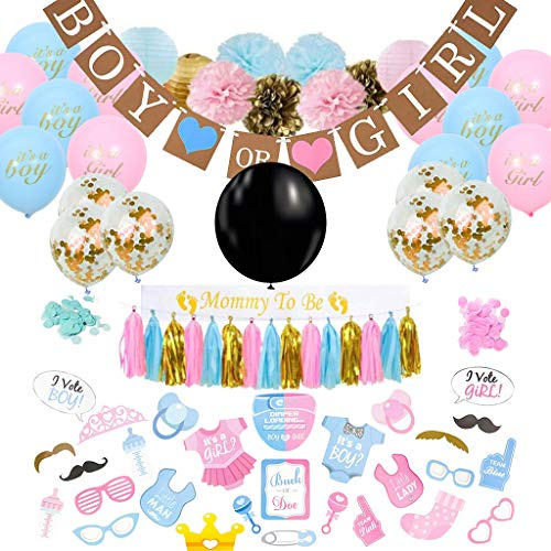 l Party Supplies and Baby Shower Party Boy or Girl Set, 36