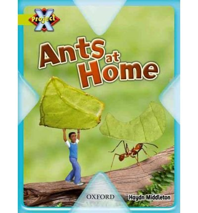 Project X: Underground: Ants at Home (Paperback) - Common