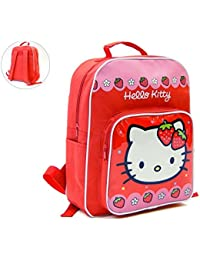 Mochila Hello Kitty Capacidad 35 X 14 X 30 cms